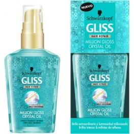 روغن کریستال ترمیم کننده مو Gliss